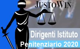 CORSO DIRIGENTI ISTITUTO PENITENZIARIO 2020