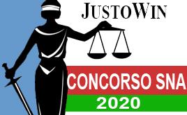 CONCORSO SNA 2020