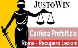 CARRIERA PREFETTIZIA ROMA 2019/2020 - RECUPERO LEZIONI 2019